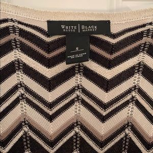 White House Black Market Sweaters - White House Black Market Chevron Cardigan
